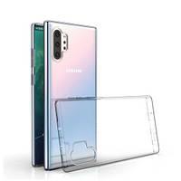 Прозрачный силиконовый чехол для Samsung Galaxy Note 10 Plus 2019 N975F