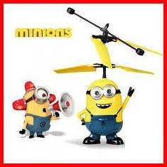 Игрушка летающий миньон, интерактивная игрушка, Гадкий Я