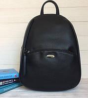 Городской  женский рюкзак david jones черного  цвета 3906
