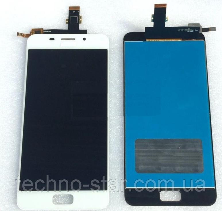 Оригинальный дисплей (модуль) + тачскрин (сенсор) для Asus Zenfone 3s Max   Pegasus 3s   ZC521TL (белый цвет)