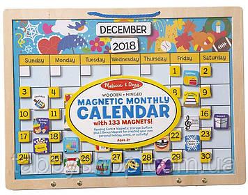 Вечный магнитный календарь Melissa & Doug