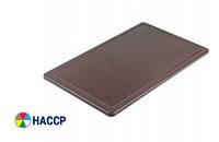 Доска разделочная коричневая 450х300х13 мм Stalgast 341456