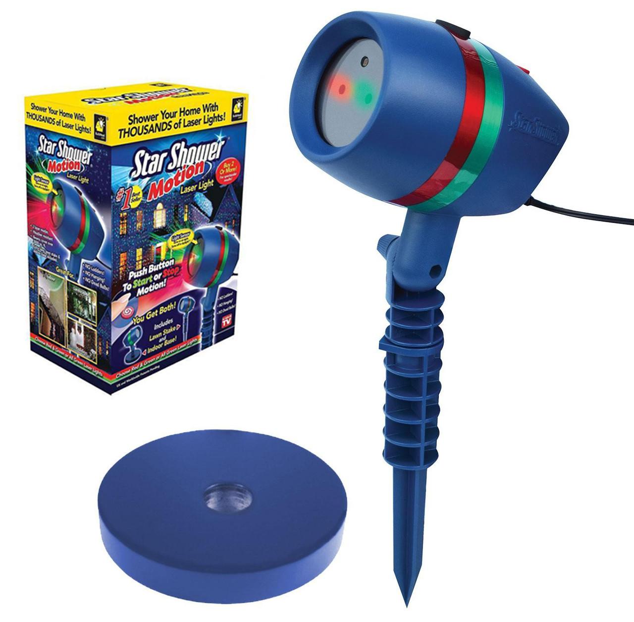 Лазерний проектор для прикраси будинків або кімнати UFT Star Shower ss-177