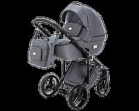 Универсальная детская коляска 2 в 1 Adamex Luciano Jeans (Адамекс Лучиано)