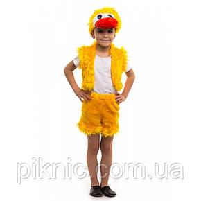 Костюм Каченя для хлопчика 3,4,5,6 років. Дитячий карнавальний костюм Каченяти 342, фото 2