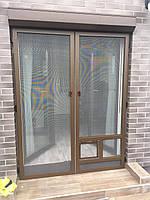 Москитная сетка на дверь Премиум класса