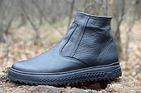 Мужские кожаные зимние ботинки Д ФЛ