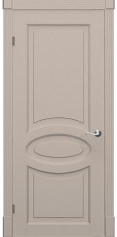 Фарбовані двері модель Каре-Еліт. Полотно+коробка+1к-т лиштв, зрощений брус сосни, фото 2