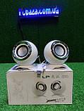 Стерео колонки USB, 3.5 мм jack для компьютера, ноутбука, работают от Power Bank, зарядника для телефона, фото 7