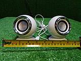Стерео колонки USB, 3.5 мм jack для компьютера, ноутбука, работают от Power Bank, зарядника для телефона, фото 8