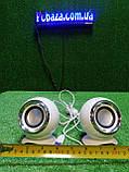 Стерео колонки USB, 3.5 мм jack для компьютера, ноутбука, работают от Power Bank, зарядника для телефона, фото 10