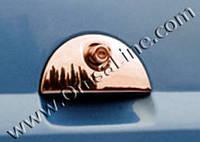 Opel Meriva 2002-2010 гг. Накладка на заднюю ручку (нерж.)