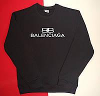 Теплый трикотажный свитшот с начесом Balenciaga