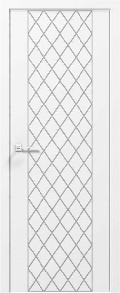 Крашенные двери модель Line - 20 . Полотно, срощенный брус сосны