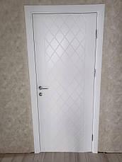 Крашенные двери модель Line - 20 . Полотно, срощенный брус сосны, фото 2