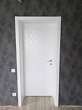 Крашенные двери модель Line - 20 . Полотно, срощенный брус сосны, фото 3