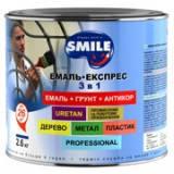 Эмаль-Экспресс антикор. 3в1, Гладкое покрытие,2,4 кг (10 цветов)
