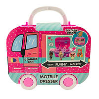 Игровой набор от Лол L.O.L. Storage Bus Автобус с куклой и аксессуарами