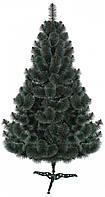 Сосна пушистая искусственная с белыми кончиками 220х155 см (SN 4605)