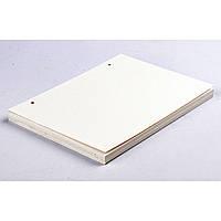 Белая с молочным оттенком бумага Munken Pure для блокнота Формата А5.