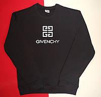 Теплый трикотажный свитшот с начесом Givenchy