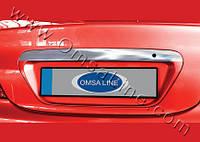 Mitsubishi Lancer 9 2004-2008 гг. Накладка над номером (нерж)