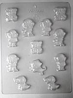 Набор форм для литья фигурок .