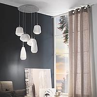 Подвесной светильник (люстра) Ondaluce SO.PIROT/TORT серия PIROT серовато-бежеый
