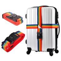Багажный ремень-крепление на чемодан с замком R82840 Разноцветный