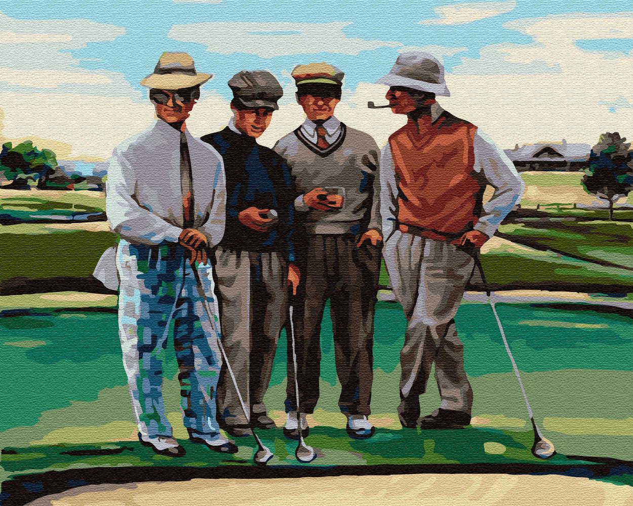 Картина по номерам BRUSHME Партия в гольф