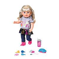 Кукла Zapf Baby Born серии Нежные объятия - Сестренка-Модница 43 см с аксессуарами (824603), фото 1