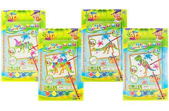 Раскраска 3-D ST320A9-A12, развивающая игрушка, подарок ребенку