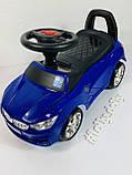 Машинка каталка-толокар BMW Bambi M 3147B с MP3, синий, фото 2
