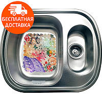Мойка для кухни стальная Galati Vayorika 1.5C Textura 7898 нержавеющая сталь, фото 1