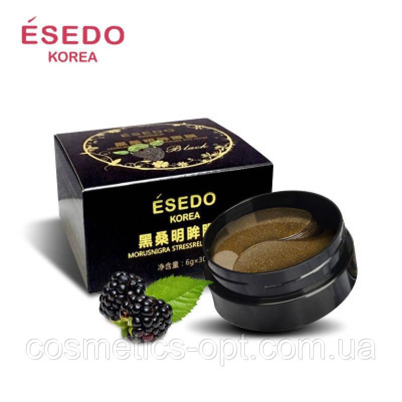 Гидрогелевые патчи для глаз ESEDO KOREA с экстрактом черной ежевики , 60 шт