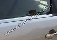 Ford Mondeo 2000-2008 гг. Наружняя окантовка стекол (4 шт, нерж.)