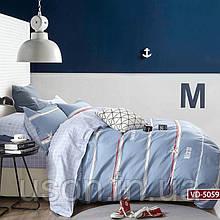 Комплект постельного белья полуторный сатин Bella Villa B- 0187