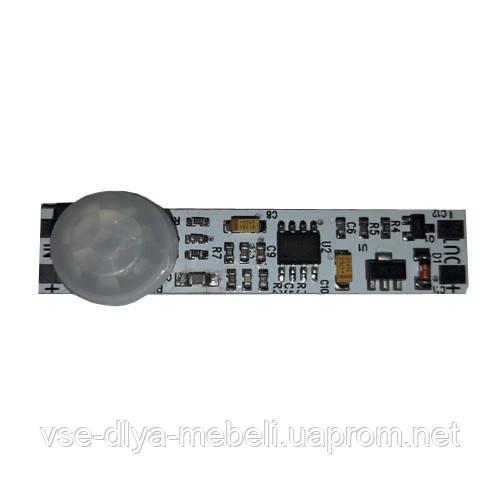 Выключатель для  LED  в профиль на движение (мощн. 72w)   (12v)