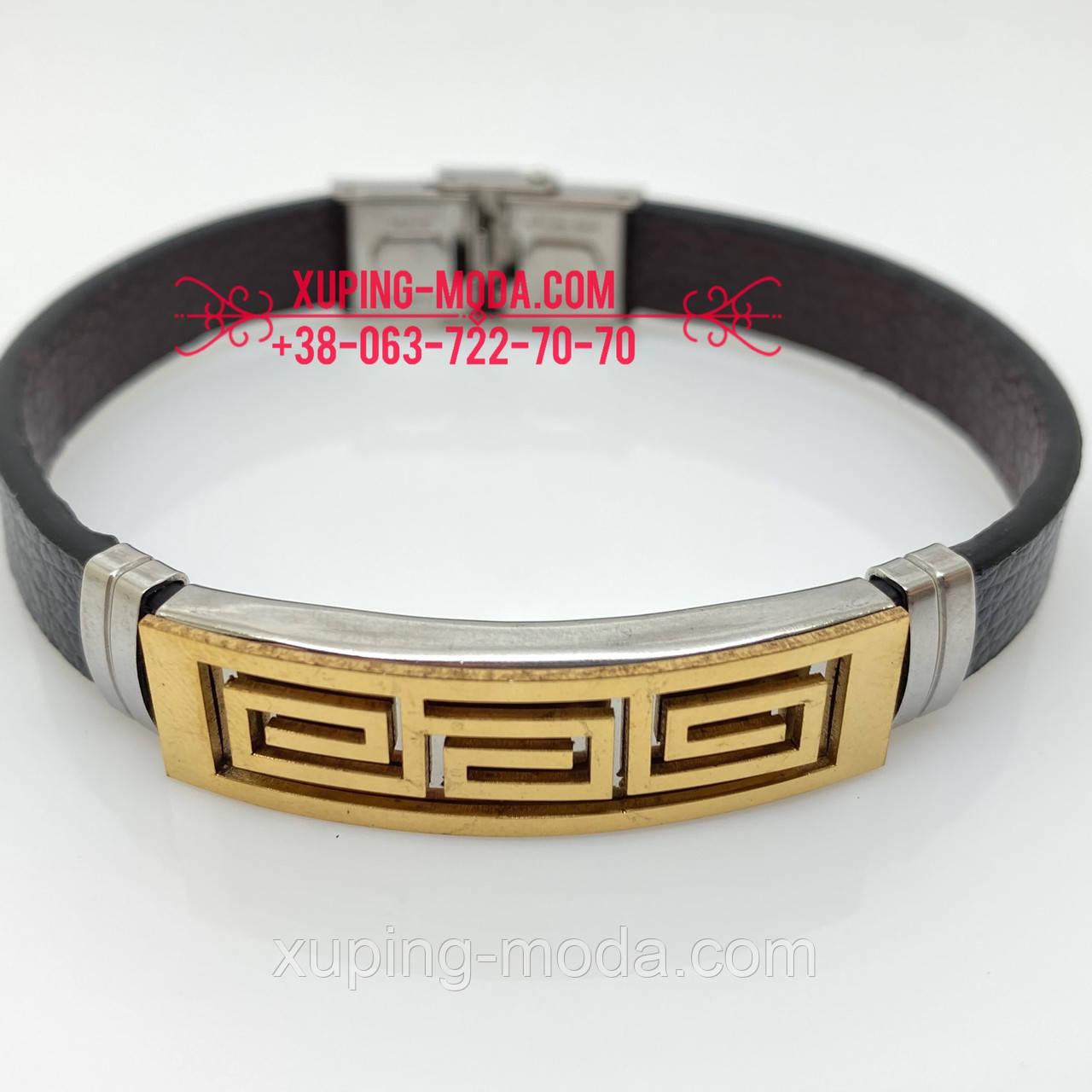 Недорогие мужские кожаные браслеты