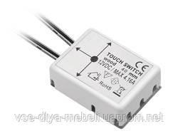 Выключатель для LED бесконтактный под плиту max-40mm  (12V) AE-WPDRW-00