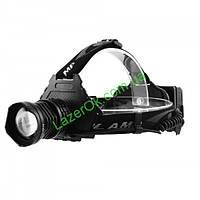 Налобный фонарь Police T70 HP70 (на 3 аккумулятора), фото 1