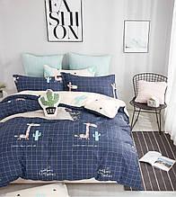 Комплект постельного белья полуторный сатин Bella Villa B- 0194