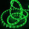 """Наружная Герметичная LED гирлянда Дюралайт """"Duralight"""" 10 метров Зеленый, 180 Ламп прозрачный силиконовый шлан, фото 2"""