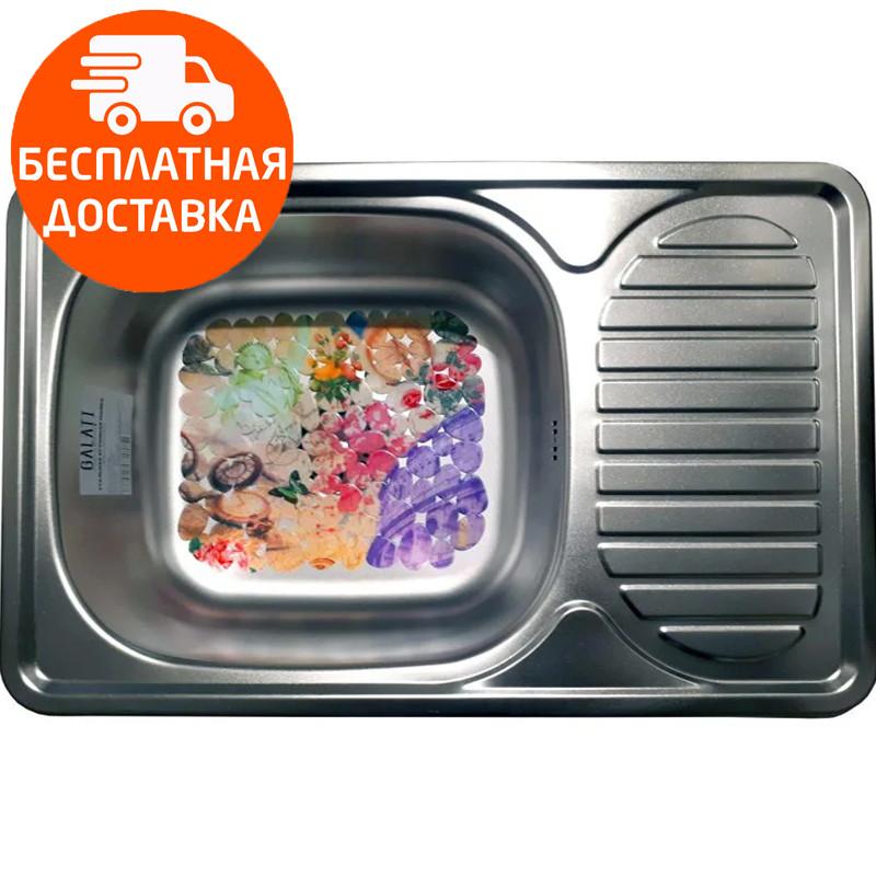 Мойка для кухни стальная Galati Mirela Satin 7135 нержавеющая сталь