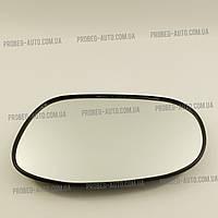 Зеркало наружнее (стекло) левое в корпусе 8 креплений LANOS grog Корея