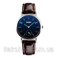Женские классические часы Skmei 9120  Black white ledi, фото 3