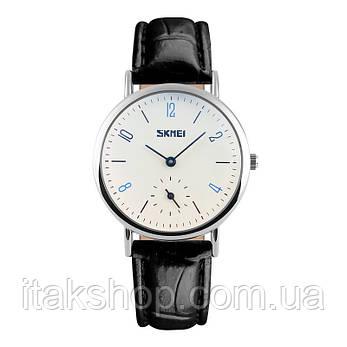 Женские классические часы Skmei 9120  Black white ledi, фото 2
