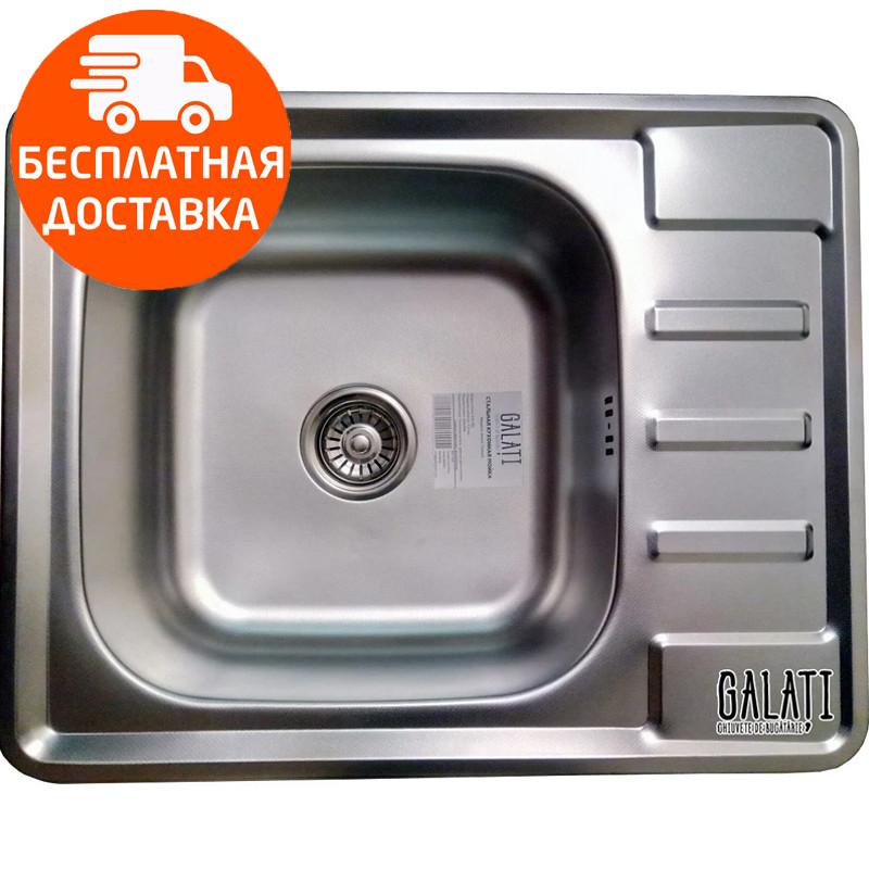 Мойка для кухни стальная Galati Douro Textura 7208 нержавеющая сталь