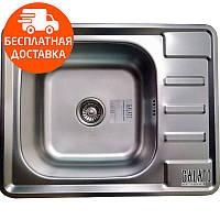 Мойка для кухни стальная Galati Douro Textura 7208 нержавеющая сталь, фото 1
