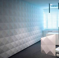 """Гипсовая 3d панель для стен """"Гиза"""" (декоративная стеновая 3д панель)"""